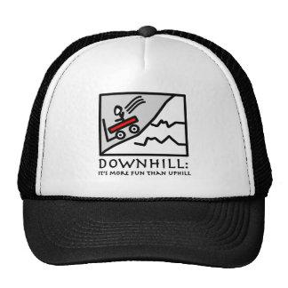 Downhill Thrill Wagon Trucker Hat