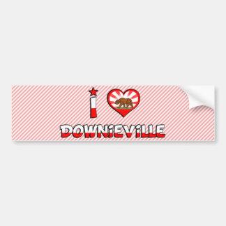 Downieville, CA Bumper Sticker