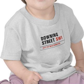 Downing Street placa de calle de Londres Camiseta