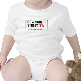 Downing Street, placa de calle de Londres Trajes De Bebé