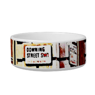Downing Street Sign Bowl