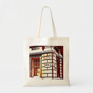 Downing Street Sign Tote Bag