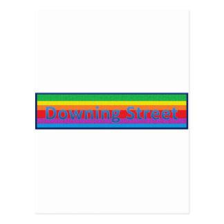 Downing Street Style1 Postcard