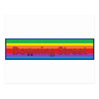 Downing Street Style 2 Postcard