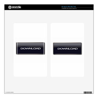Download Button Decals For Kindle Fire