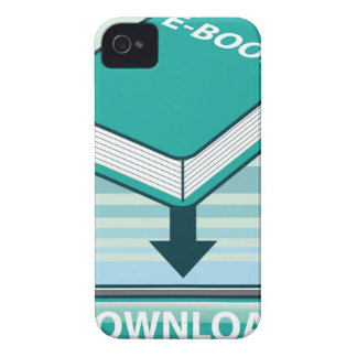 Download Ebook Button with Book Icon iPhone 4 Covers