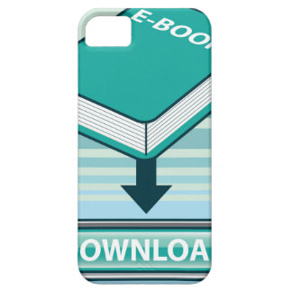 Download Ebook Button with Book Icon iPhone SE/5/5s Case