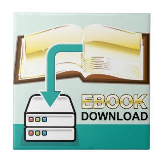 Download Golden Ebook Vector Icon Illustration Ceramic Tile