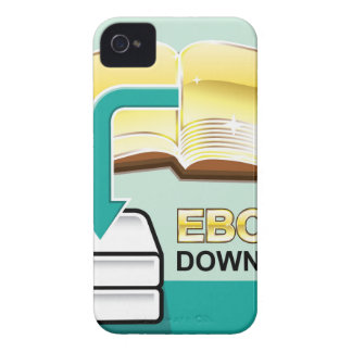 Download Golden Ebook Vector Icon Illustration iPhone 4 Cases