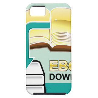 Download Golden Ebook Vector Icon Illustration iPhone SE/5/5s Case