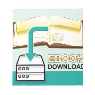 Download Golden Ebook Vector Icon Illustration Notepad
