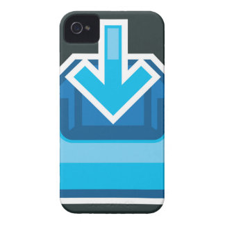 Download Icon Box Vector with an arrow iPhone 4 Covers