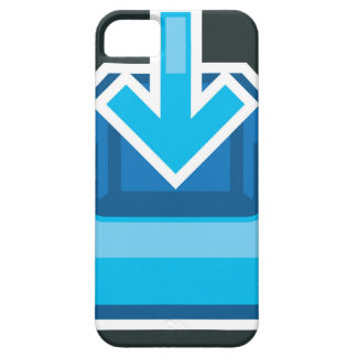 Download Icon Box Vector with an arrow iPhone SE/5/5s Case