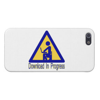 Download In Progress Toilet Humor Cover For iPhone SE/5/5s