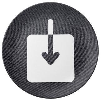 Download Speeds Sign Porcelain Plates
