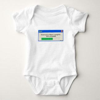 Download to Diaper Progress Bar Baby Bodysuit