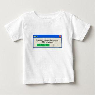 Download to Diaper Progress Bar Baby T-Shirt