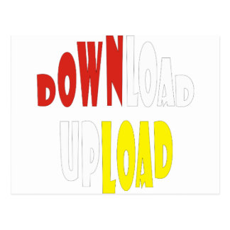DOWNLOAD UPLOAD POSTCARD