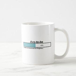Downloading Avo to Be Classic White Coffee Mug