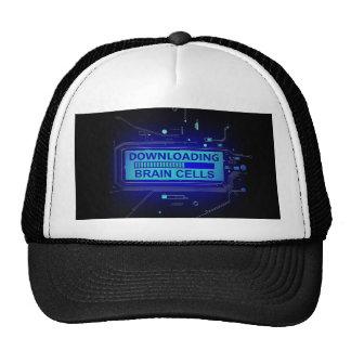 Downloading brain cells. trucker hat