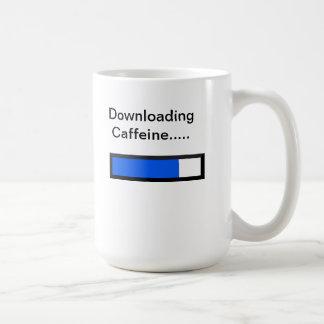 Downloading Caffine Mug