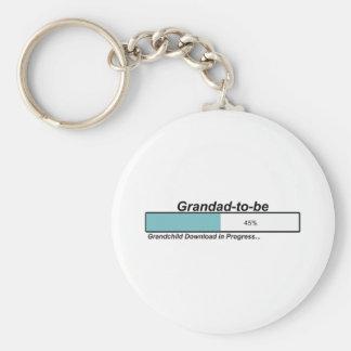Downloading Grandad to Be Keychain