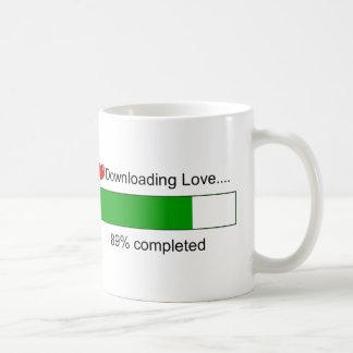 Downloading Love Coffee Mug