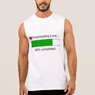 Downloading Love Sleeveless Shirt