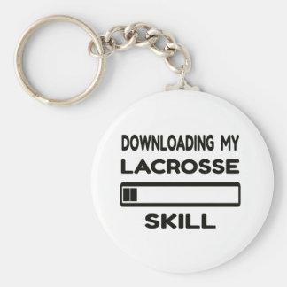 Downloading my Lacrosse skill Keychain