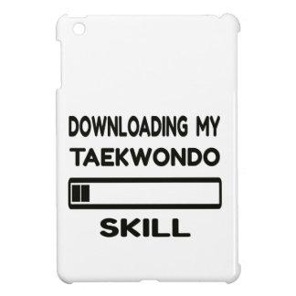 Downloading my Taekwondo skill iPad Mini Cases