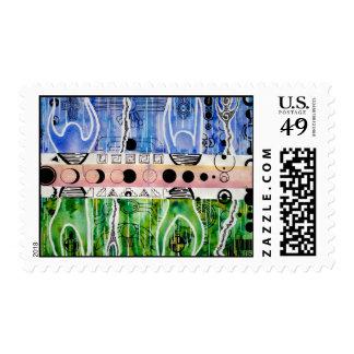 Downloading Original Art Stamp