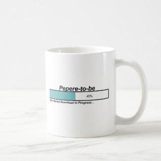 Downloading Pepere to Be Classic White Coffee Mug