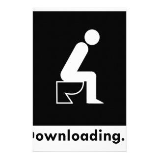 Downloading Poop Stationery