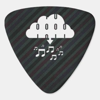 Downloading Songs Symbol Guitar Pick