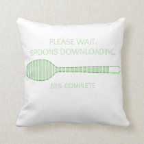 Downloading Spoons Pillow