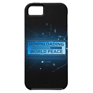 Downloading world peace. iPhone SE/5/5s case