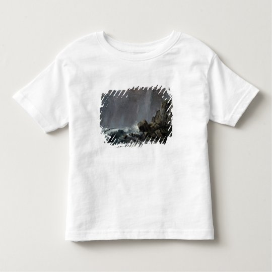 Downpour at Etretat Toddler T-shirt