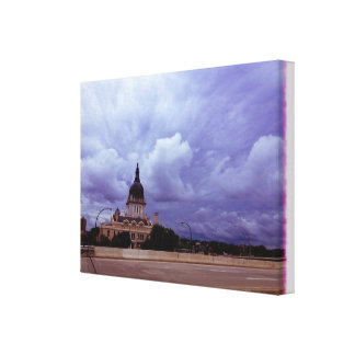 Downright Biblical Stretched Canvas Prints