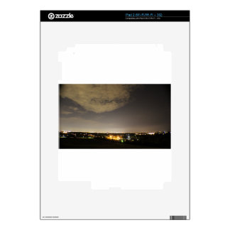 Downriver Skyline iPad 2 Decals