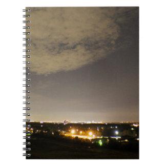Downriver Skyline Notebook