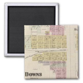 Downs, Bloomington, Covert, Appleton, Kansas Magnet