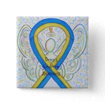 Down's Syndrome Angel Awareness Ribbon Pins
