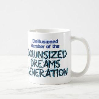 Downsized Dreams Classic White Mug