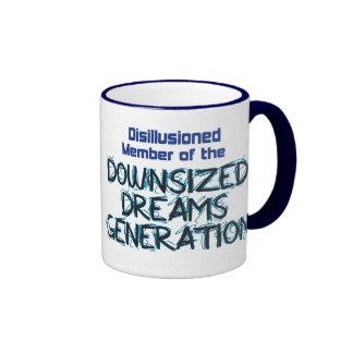 Downsized Dreams Ringer Mug
