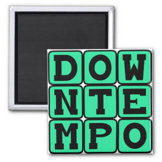 Downtempo, Music Genre Magnets