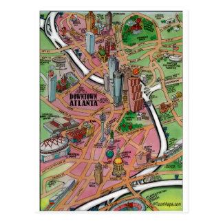 Downtown Atlanta Georgia Postcard