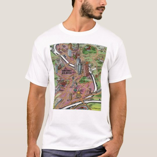 Downtown Atlanta Georgia T-Shirt