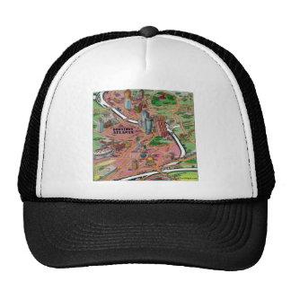 Downtown Atlanta Georgia Trucker Hat