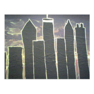 Downtown Atlanta Skyline Postcard
