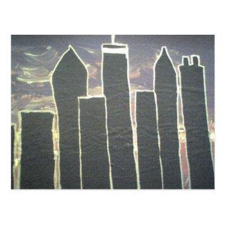 Downtown Atlanta Skyline Postcard